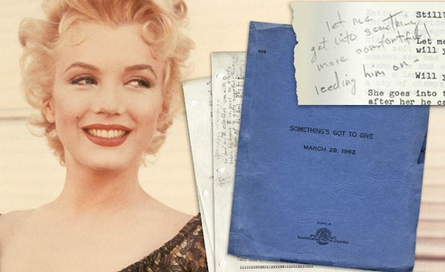 ВЛос-Анджелесе за $25 тыс. продан сценарий последнего фильма Мэрилин Монро