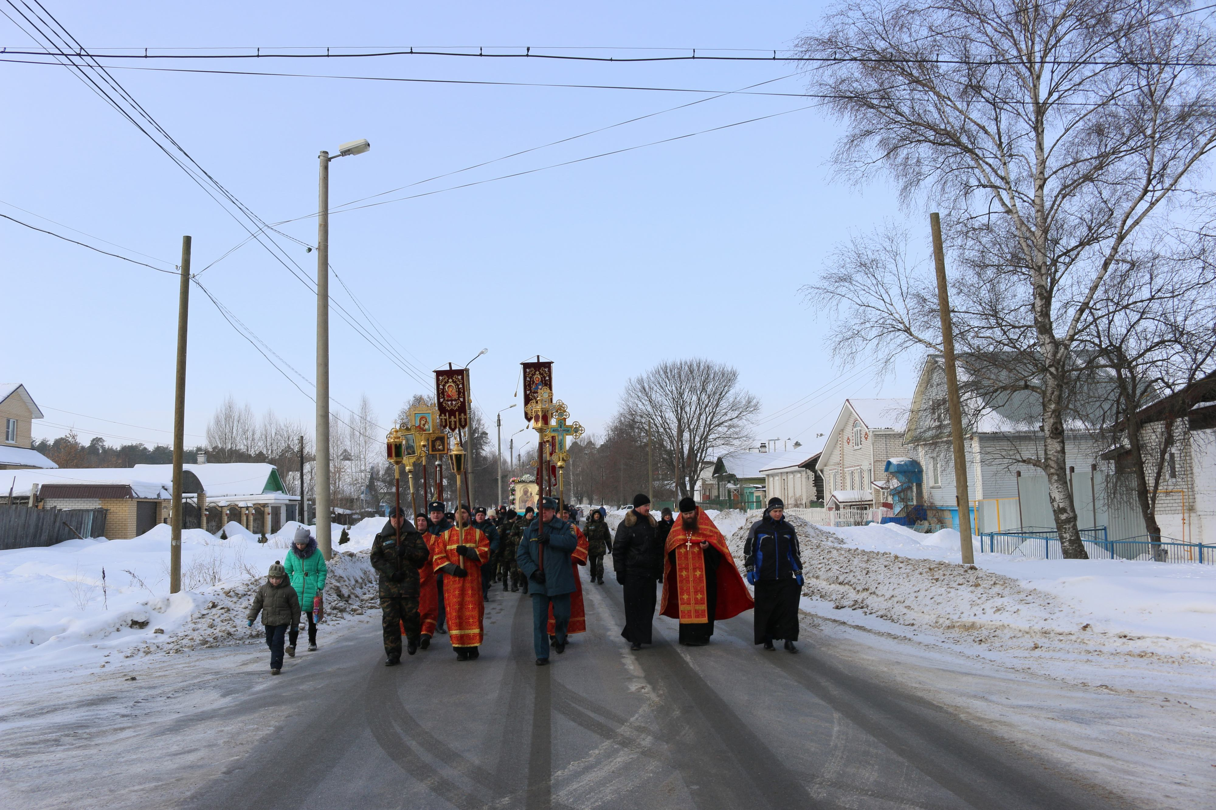 Крестный ход в день памяти новомучеников и исповедников Церкви Русской прошел в Выксе-21