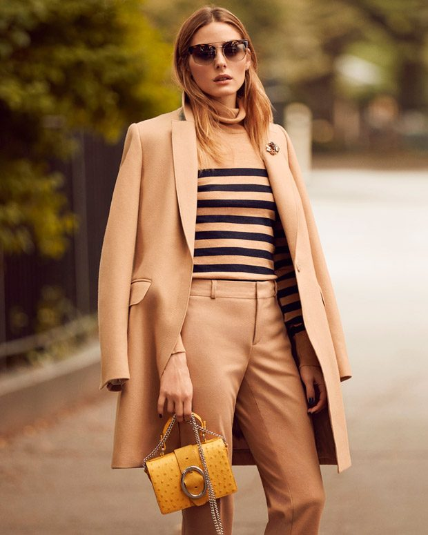 Style Icon Olivia Palermo is the New Face of Banana Republic (6 pics)