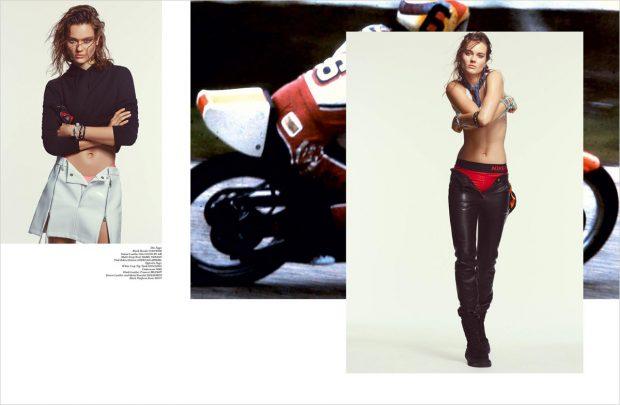 Formula One Style: Jac Jagaciak for The Impression Magazine Fall 2016