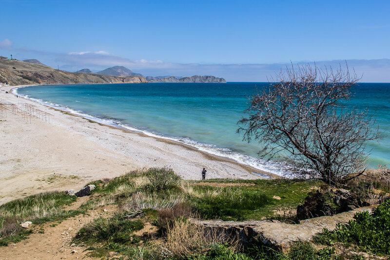 Нудистский пляж за холмом Юнге
