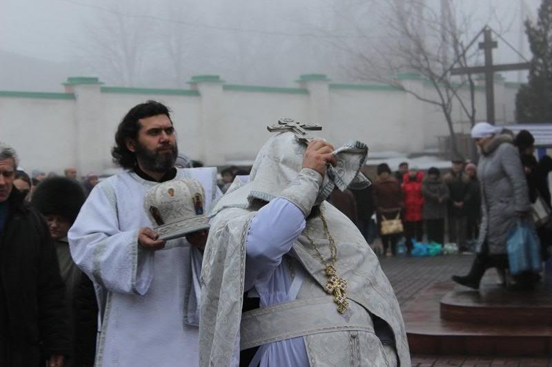 Праздник Крещения Господня  в Свято-Николаевском кафедральном соборе 19.01.2013 г