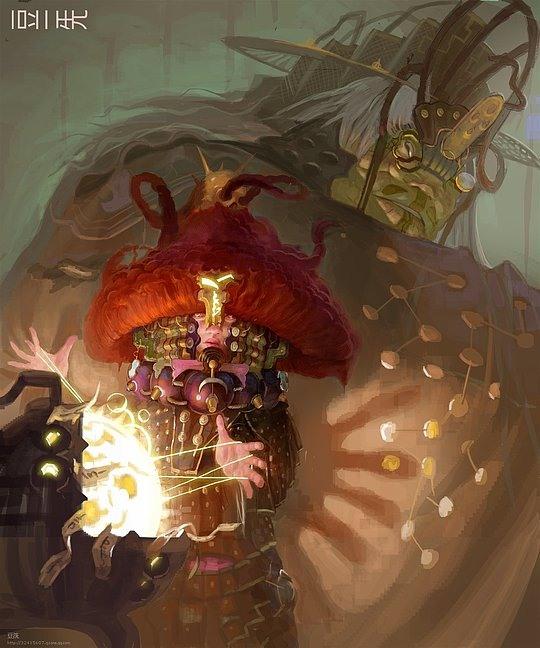 Stunning Fantasy Illustrations by XiZhang