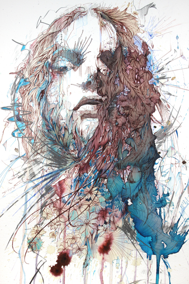 Tea, Brandy And Vodka Art by Carne Griffiths