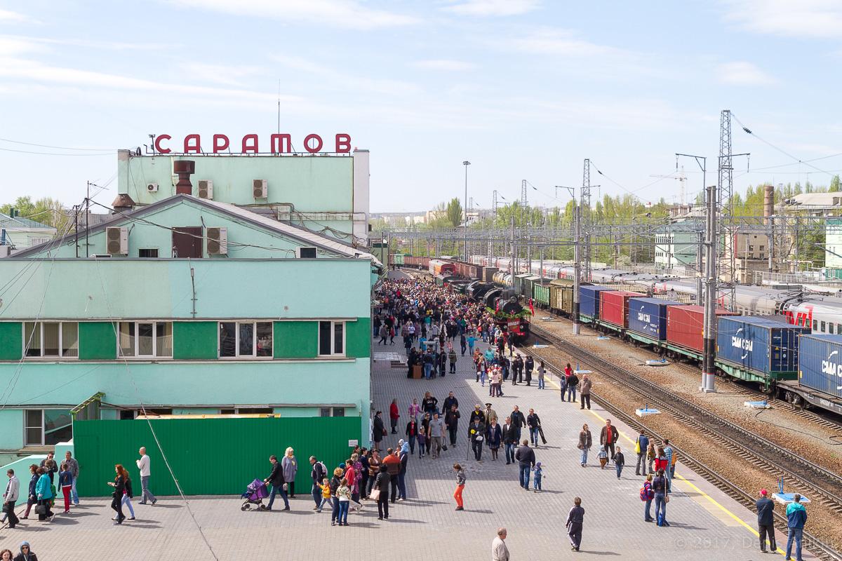 Ретро-поезд Победа фото 19