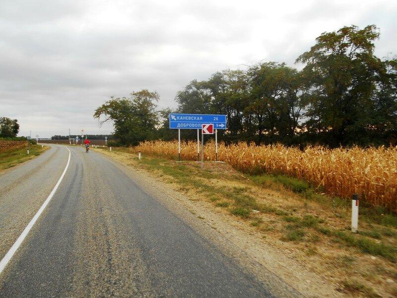 Утро, до Каневской 26 км, проехали 54 км ... DSCN8874.JPG