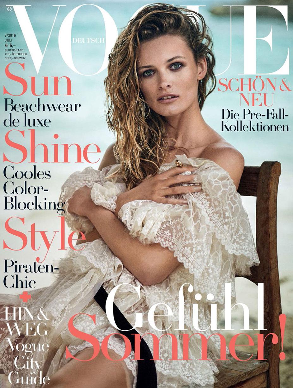 Эдита Вилкевичуте / Edita Vilkeviciute by Boo George in Vogue Germany July 2016