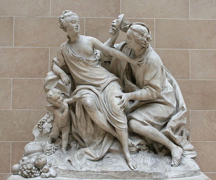922px-Vertumne_et_pomone Создан как дань Луи XV и мадам де Помпадур.JPG