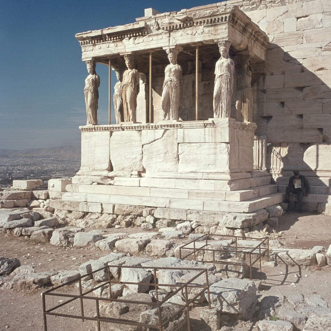 Афины, Акрополь. Эрехтейон