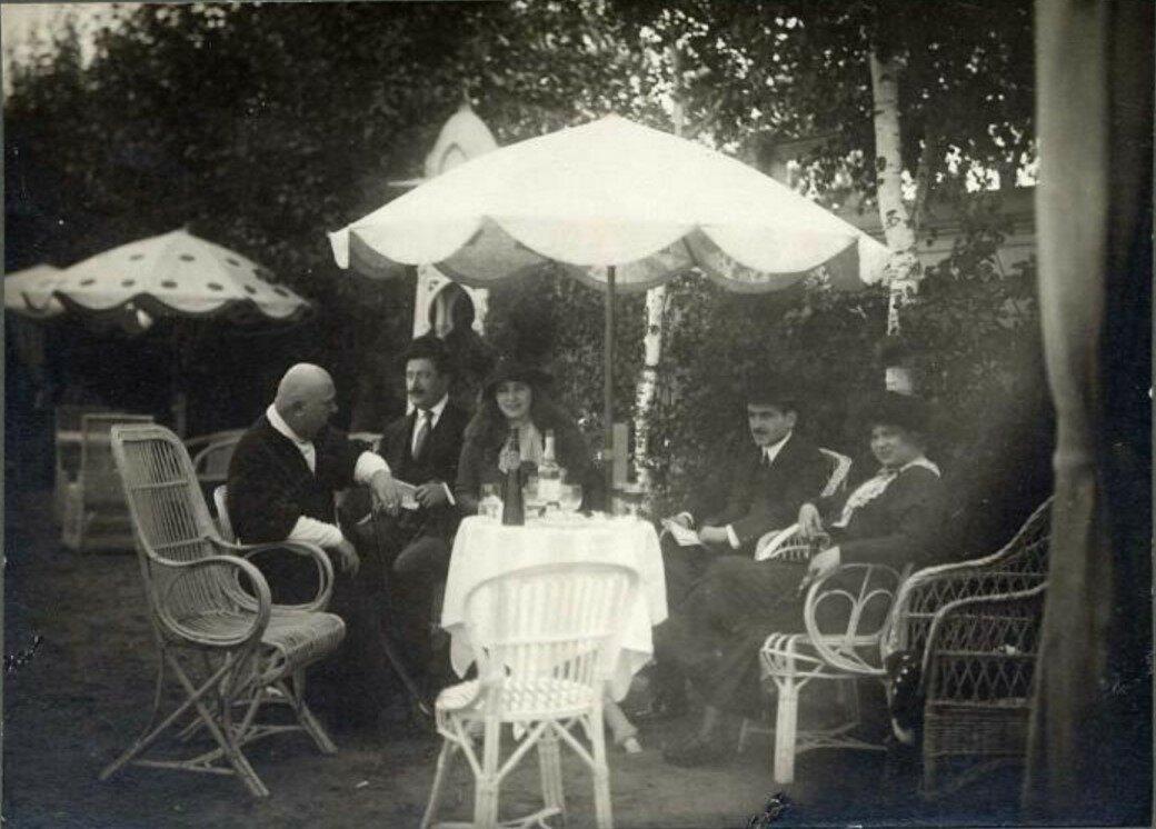 1903. На даче. Лубны, Полтавской губ.