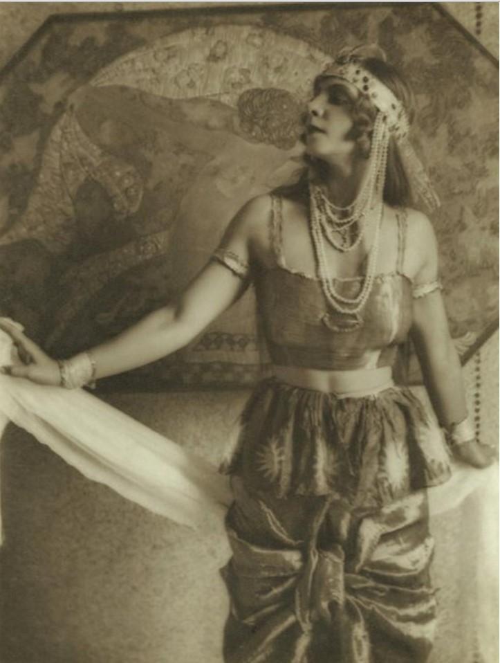 Портрет актрисы. 1920