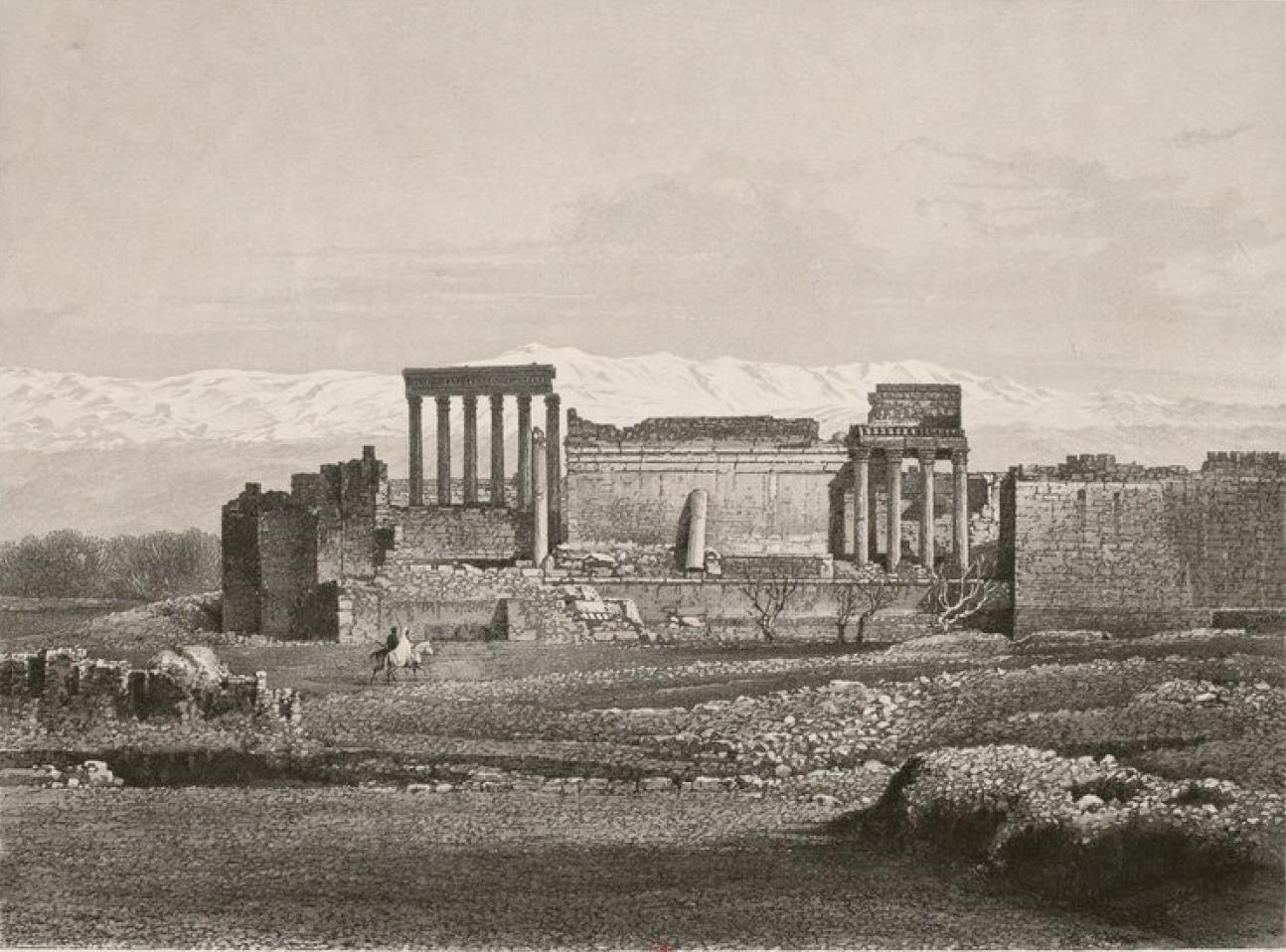 Ливан. Храм Солнца в Баальбеке