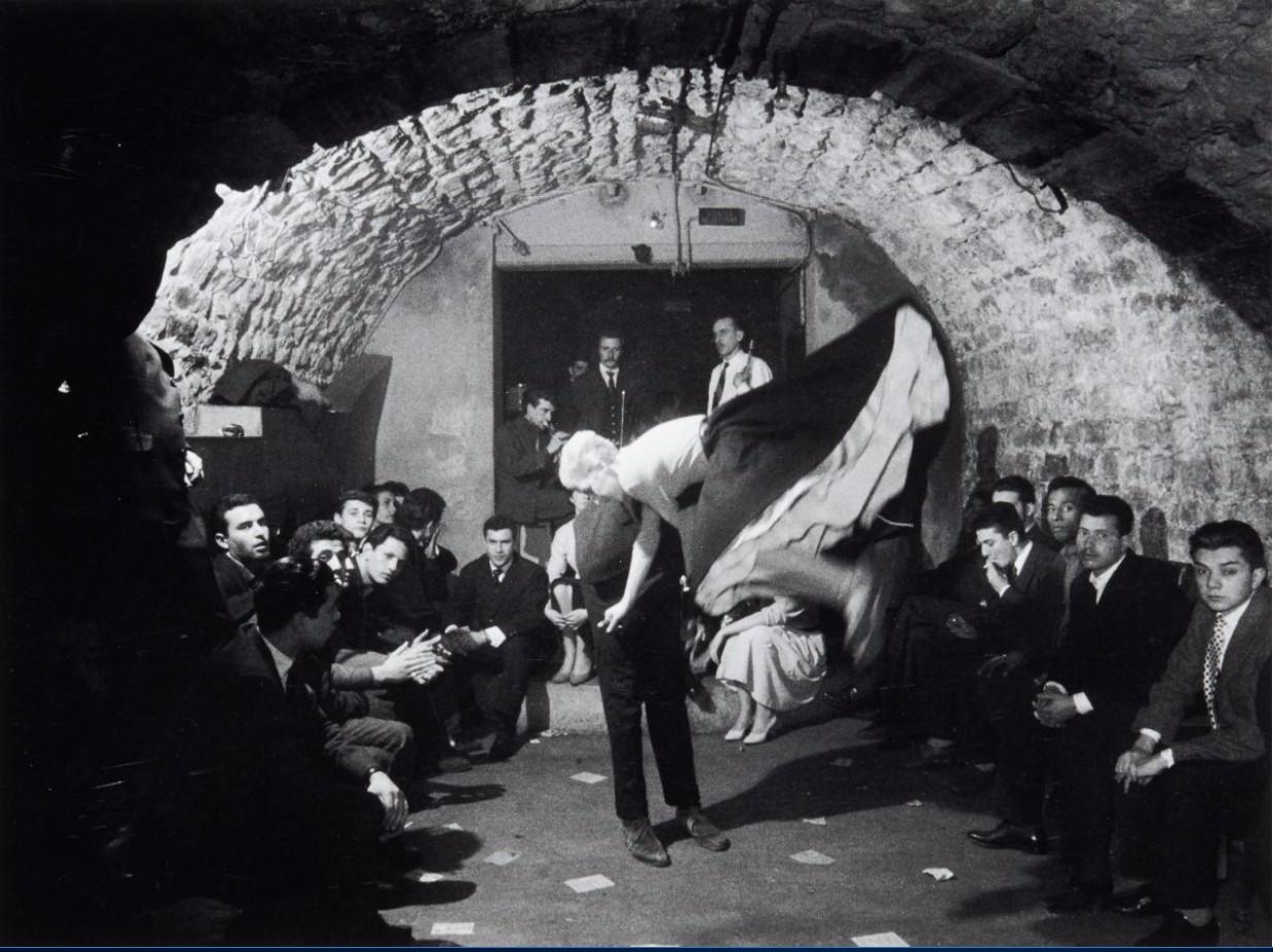 1957. Клуб «Вещь». Улица Юшет