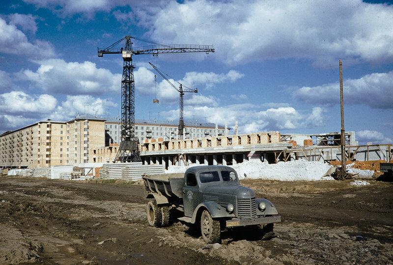 1959 Ленинский пр-т. Harrison Forman.jpg
