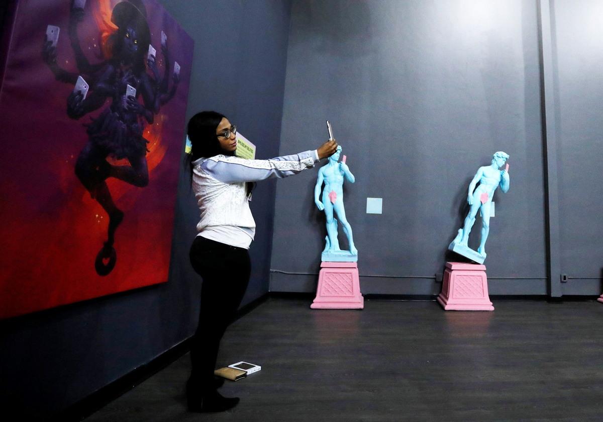 Музей селфи в Калифорнии
