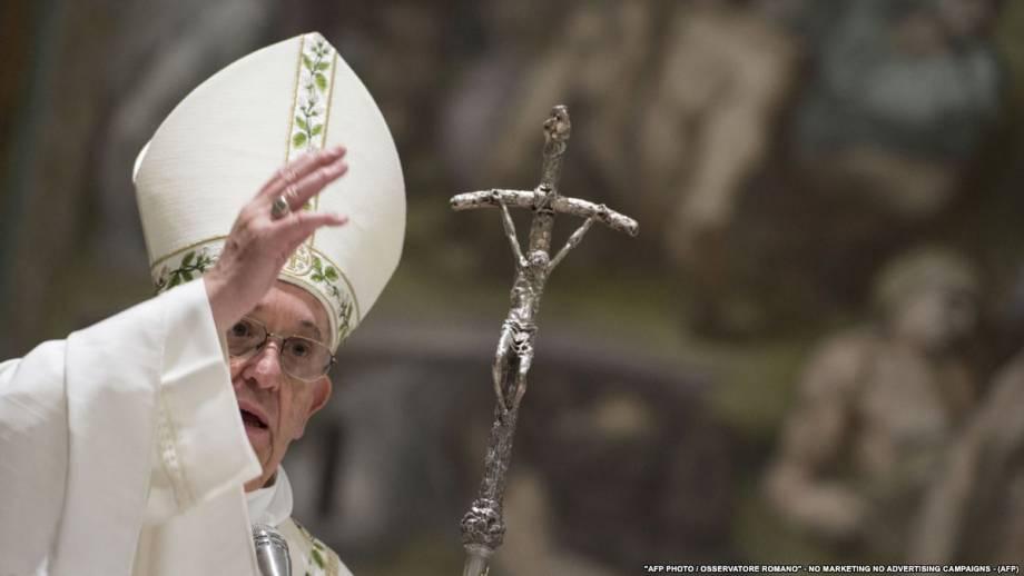 Папа Римский в своем пасхальном обращении призвал к миру в Украине