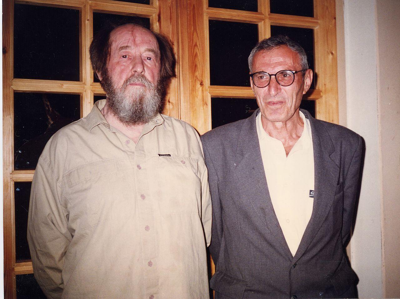 Александр Исаевич Солженицын и Иосиф Гецелевич Дядькин