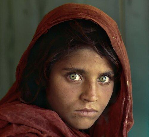 Арестована «афганская девочка» с обложки National Geographic