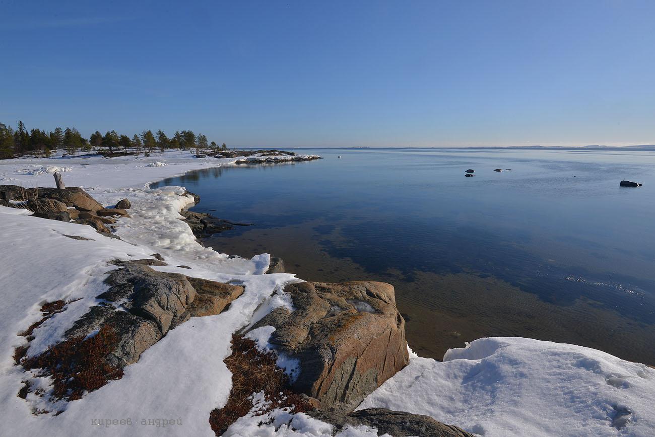 Белое море.