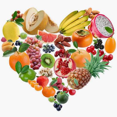 2 июня День здорового питания. Сердечко из фруктов