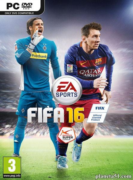 FIFA 16 (2015/RUS/ENG/Update 5/RePack от SEYTER)- обновлен 25.12.2016