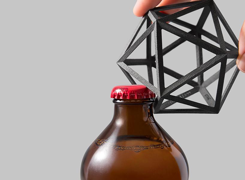 Открывалка для бутылок в форме многоугольника