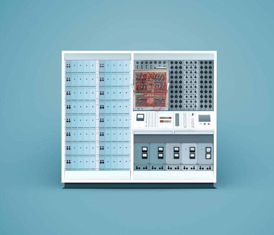 ENDIM 2000 Аналоговый компьютер, разработанный и созданный в бывшей Германской Демократическо