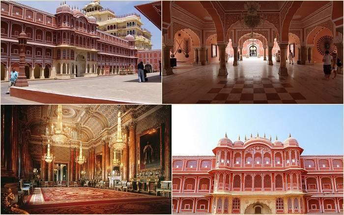 Городской дворец Джайпура представляет собой удивительный дворцовый комплекс в одном из самых старых