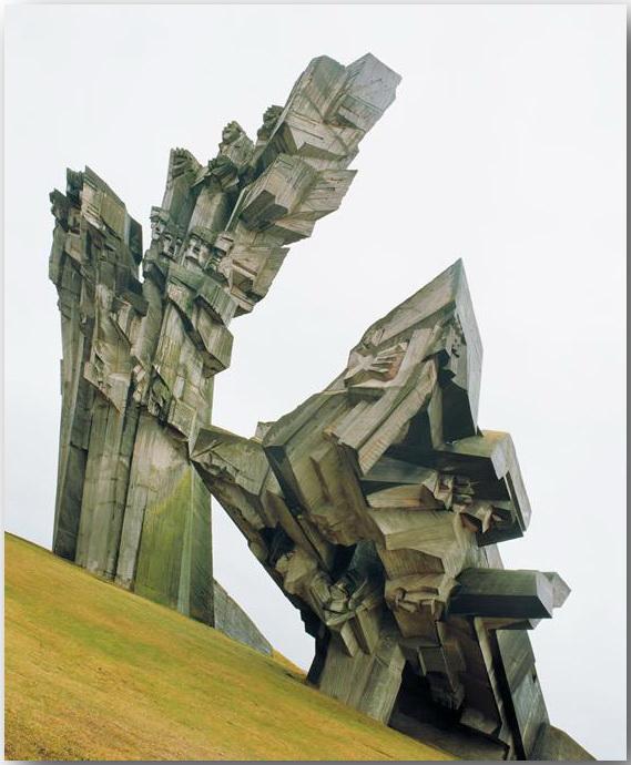 Памятник жертвам немецких оккупантов, Каунас, Литва.