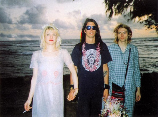 © tumblr  Кортни Лав иКурт Кобейн познакомились вянваре 1990 года вночном клубе вПортланде