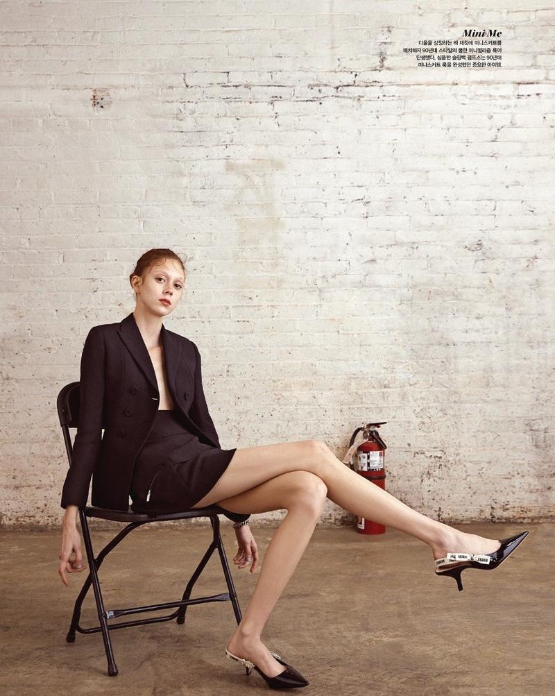 Натали Уэстлинг на обложке Vogue Korea