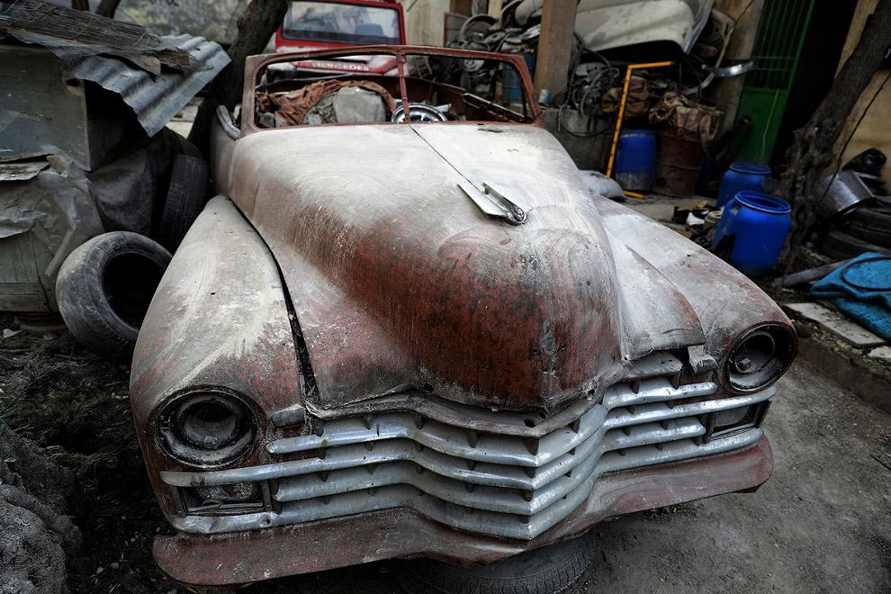 Мохаммаду особенно нравятся американские автомобили 1950-х годов: Buick, Cadillac, Chevrolet, H