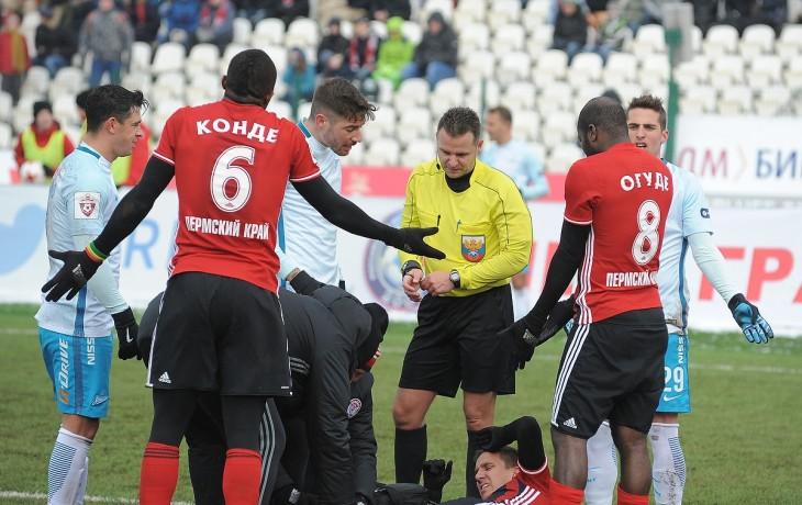 «Зенит» обыграл «Арсенал» срезультатом  2:0