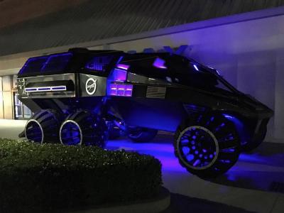 ВNASA создали марсоход, который напоминает «бэтмобиль»