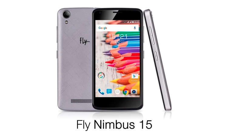LTE-смартфон Fly Nimbus 15 оценен дешевле 4,5 тыс. руб.