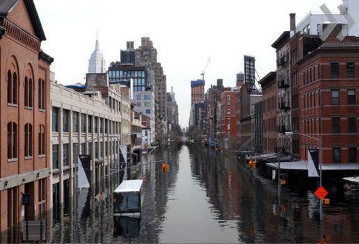 Ученые показали затопление Нью-Йорка из-за глобального потепления навидео