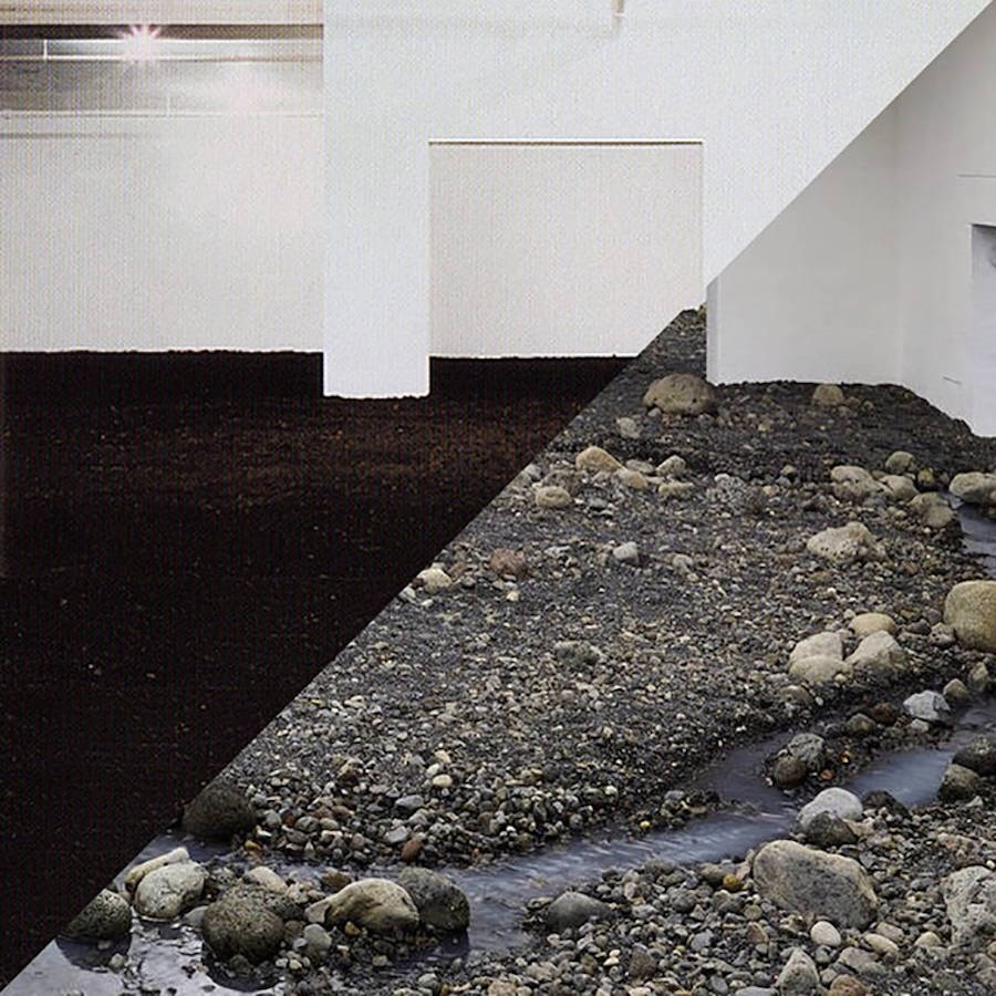 Walter de Maria, New York Earth Room, 1977 / Olafur Eliasson, Riverbed, Louisiana Museum of Modern A