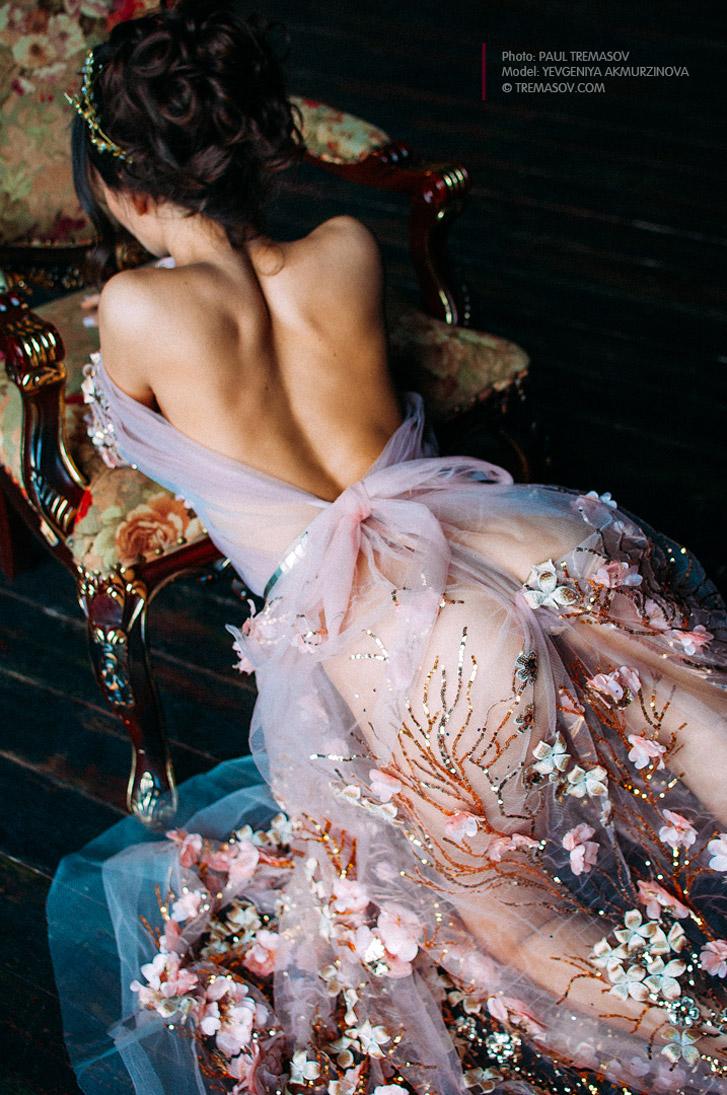 La Nymphe - Евгения Акмурзинова / Yevgeniya Akmurzinova by Paul Tremasov