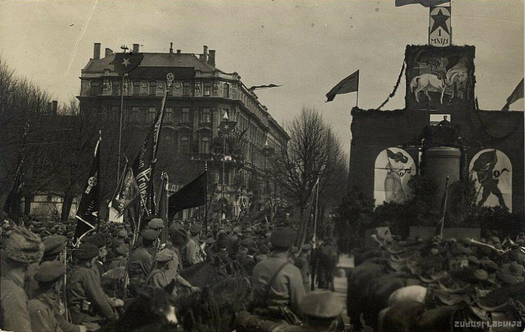 Первомай, Рига, 1919