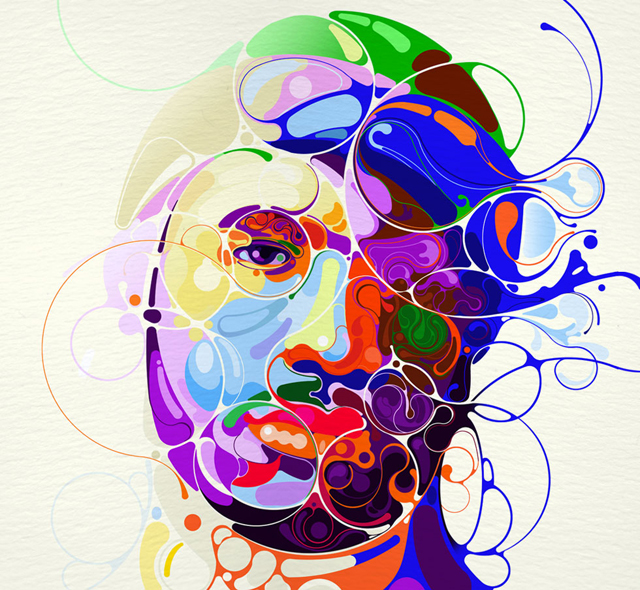 Colorful Illustrations by Martin Sati