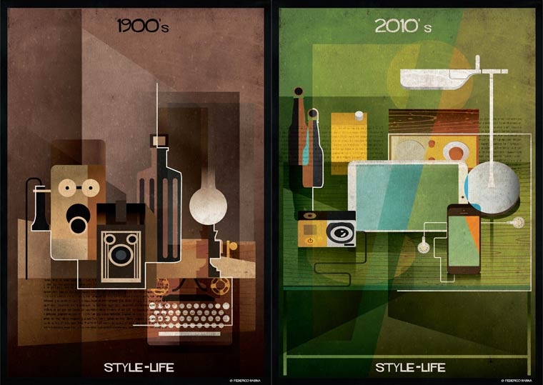 Style Life - The evolution of everyday objects from the 1910s to the 2010s