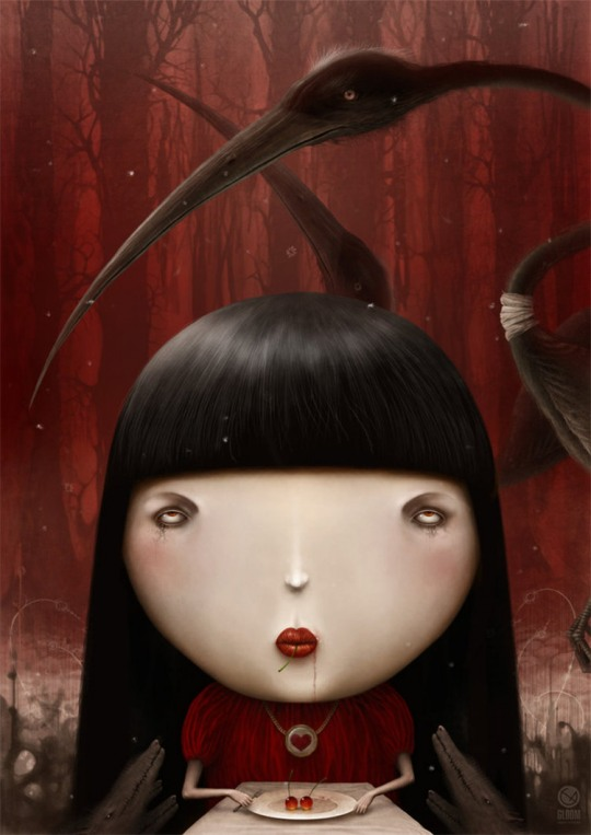 Creepy Illustrations by Anton Semenov