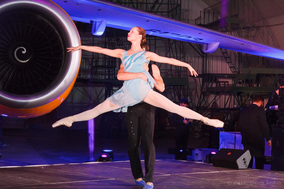 балет самолёт презентация ан-148 саратовские авиалинии вера шарипова фото 2