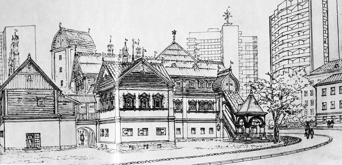 Палаты Гранатного двора. XVII в. (по материалам П. Барановского).jpg