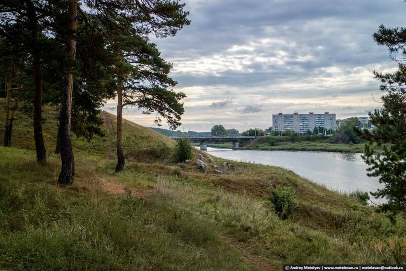 река Исеть Каменск-Уральский