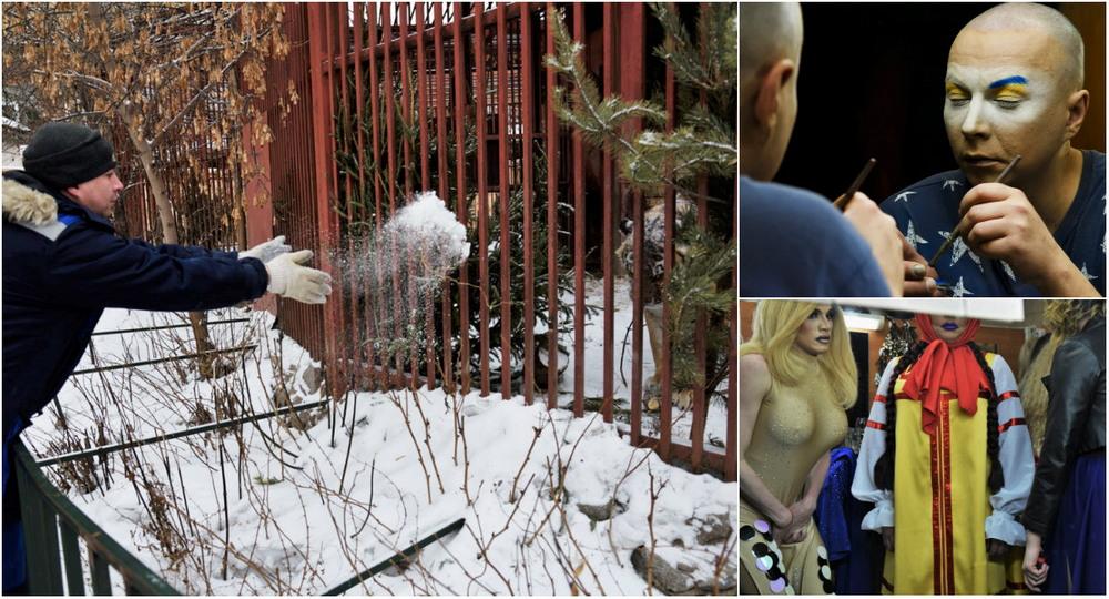 Днем Сергей кормит тигриц в зоопарке, а вечерами выступает в травести-шоу