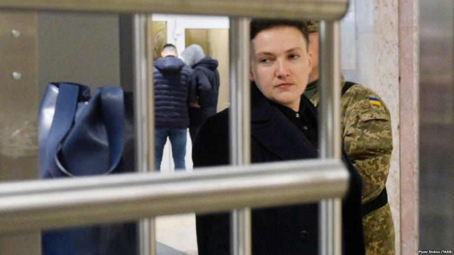 В Раде рассматривают представления относительно согласия на задержание и арест Надежды Савченко (трансляция)