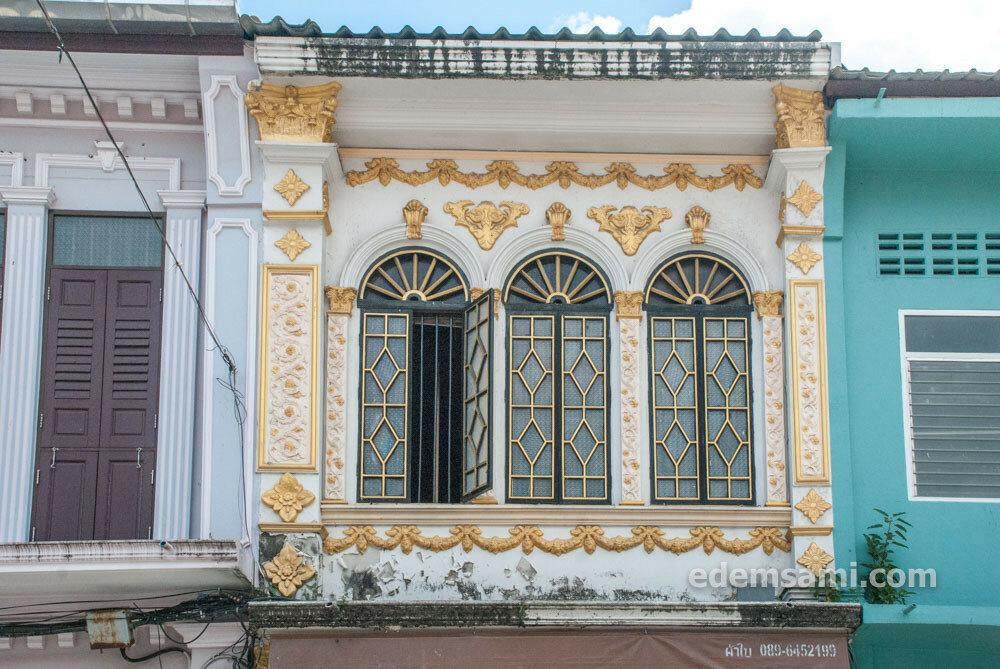 Архитектура в Пхукет-Тауне