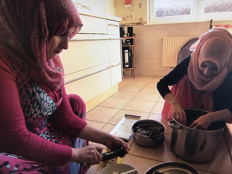 беженцы Германия мигранты семья Сирия