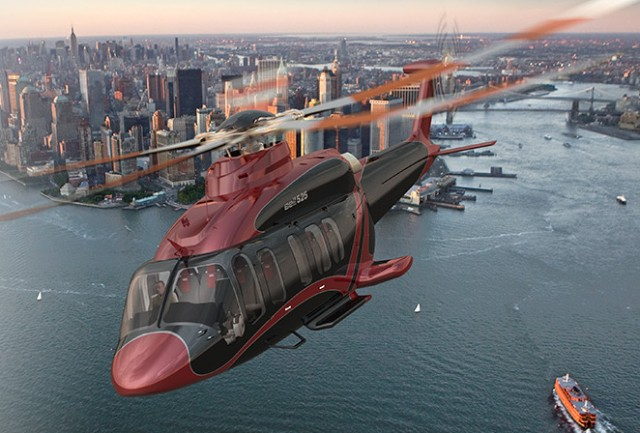 Helicopter Luxurious Interior